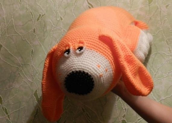 Интересное: Собачки вязаные:-)