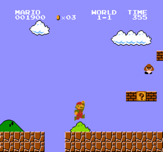 Интересное: Супер Марио