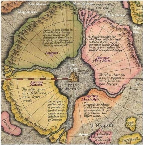 Интересное: Легендарные континенты
