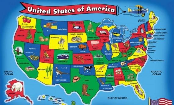Страны: Американские штаты