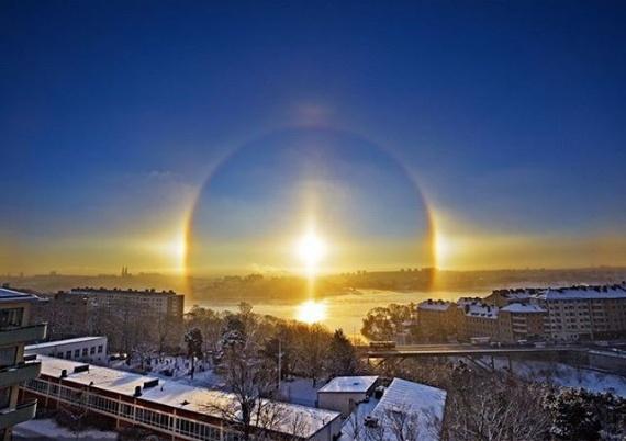 Интересное: Три солнца