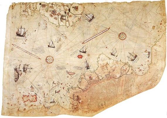 Интересное: Карта Пири Рейса