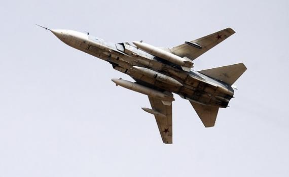 Проишествия: Российский Су-24 был сбит над Сирией