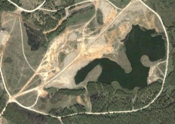 Новости: В Челябинской области забетонировали озеро Карачай