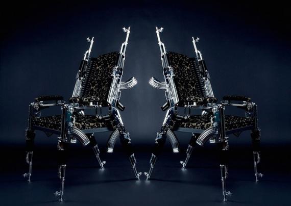 Интересное: Кресла из автоматов