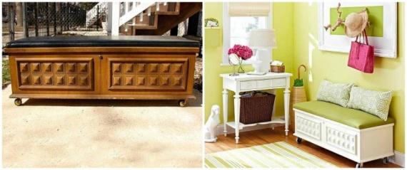 Полезные советы: Переделываем старую мебель