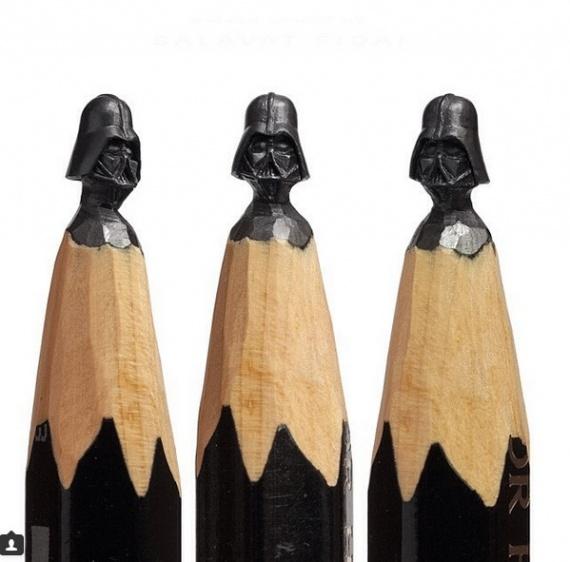 Интересное: Резьба по карандашу