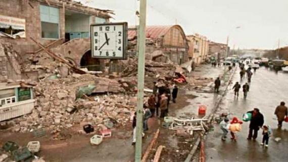 Общество: Землетрясение в Армении 1988 года