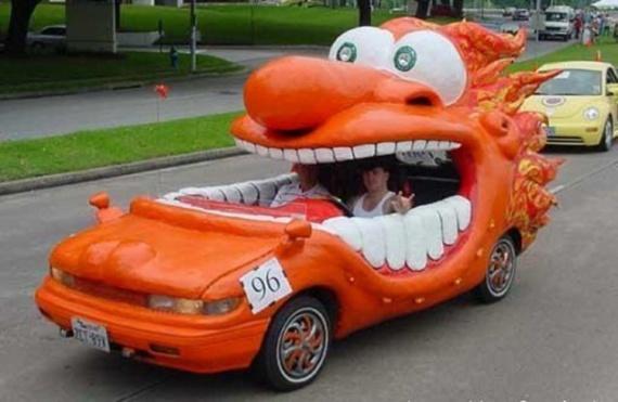Интересное: Необычные автомобили