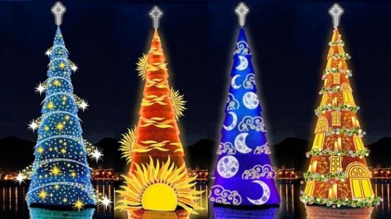 Интересное: Самые красивые новогодние ёлки