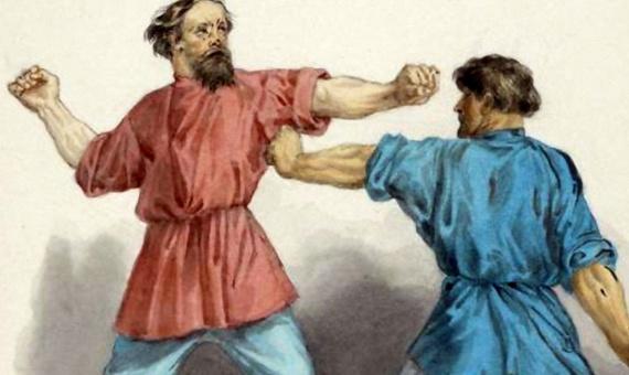 Интересное: Кулачный бой