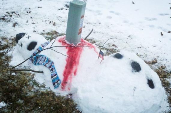 Интересное: Снежный человек
