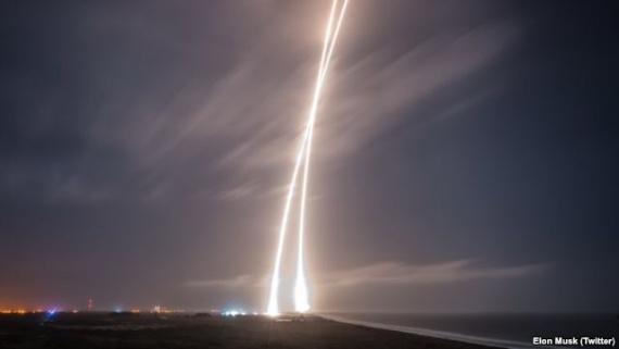 Новости: Неудачная посадка Falcon 9