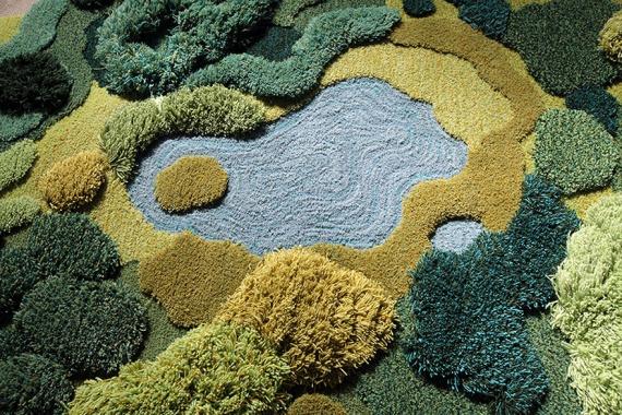 Интересное: Лесные ковры