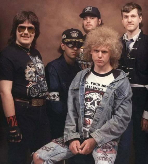 Интересное: Рокеры 80-х