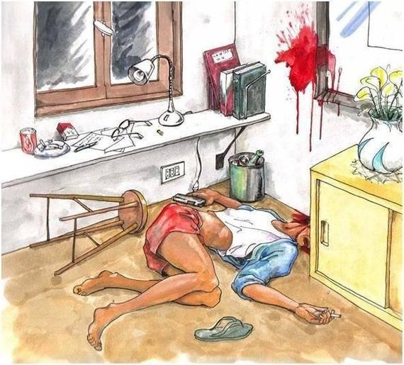 Криминал: Задача по криминалистике