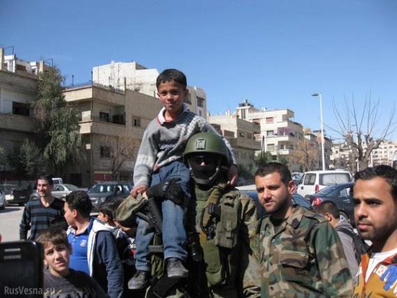 Общество: Вежливые люди в Дамаске