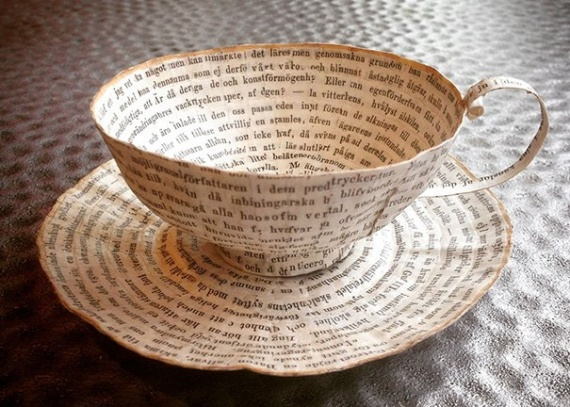 Домашнее хозяйство: Что можно сделать из старых книг
