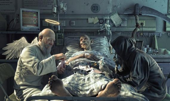 Интересное: Что человек испытывает после смерти