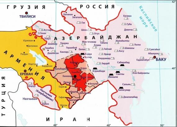 Политика: В зоне карабахского конфликта начались интенсивные столкновения