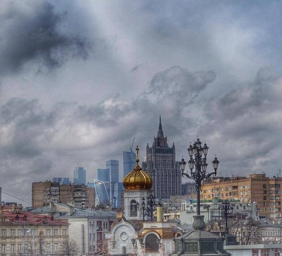 Картинки: Москва в одном фото