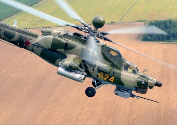 Интересное: Ми-28Н в Сирии атакует шайтанов.