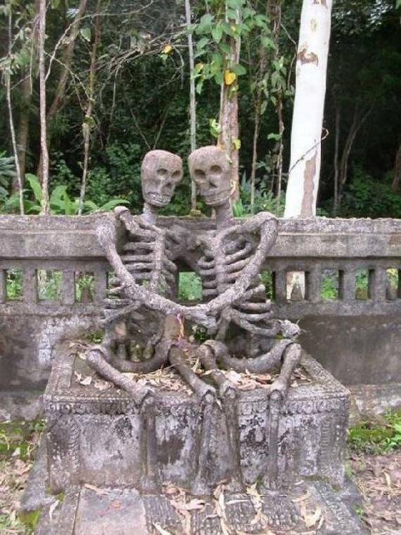 Безумный мир: Кладбищенский юморок