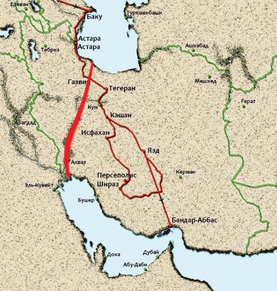 Экономика: Россия и Иран обсуждают возможность прокладки канала из Каспия в Персидский залив