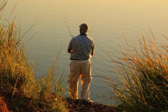 везение на рыбалке