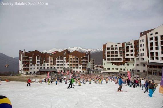 Адлер: Первой высокогорный фестиваль Бугель-Вугель на Красной поляне