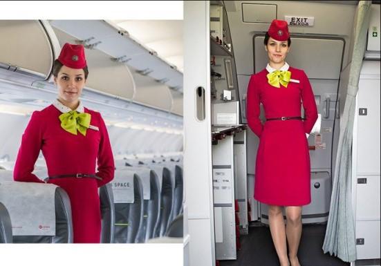 Интересное: Почему стюардессы держат руки за спиной во время посадки