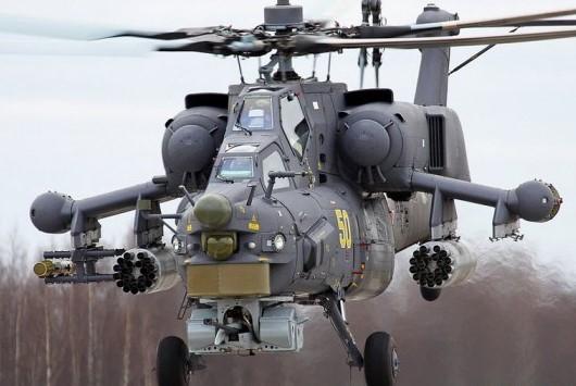 Проишествия: Российский вертолет Ми-28Н разбился в Сирии