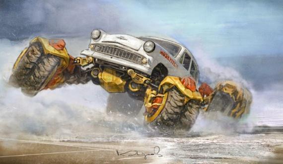 Интересное: Советские автомобили :-)