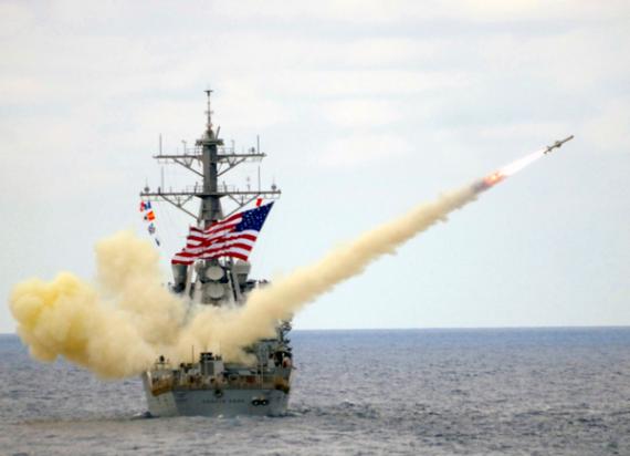 Война: Су-24 и американский эсминец