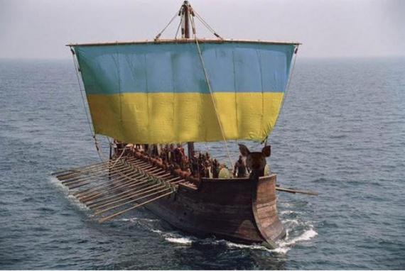 404: Порошенко: Украина с удовольствием присоединится к флотилии НАТО :-)