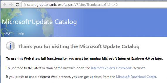 Технологии: Обновления безопасности Windows можно будет скачать только Internet Explorer