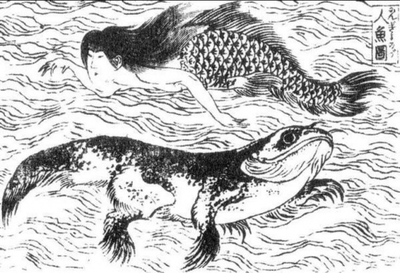 Интересное: Японские русалки