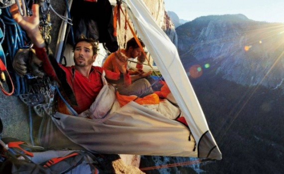 Путешествия: Как альпинисты ночуют в горах