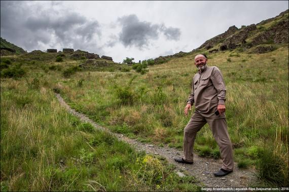 Путешествия: Чеченский город мертвых