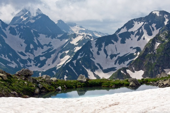 Блог djamix: Пропавшего в мае в горах туриста нашли погибшим