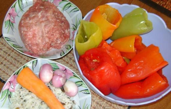 кухня: Фаршированный перец