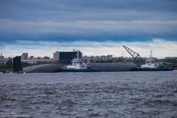 Интересное: Тяжелый ракетный подводный крейсер стратегического назначения ТК-208 Дмитрий Донской