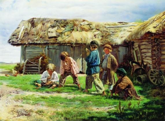 История: Воспитание детей на Руси