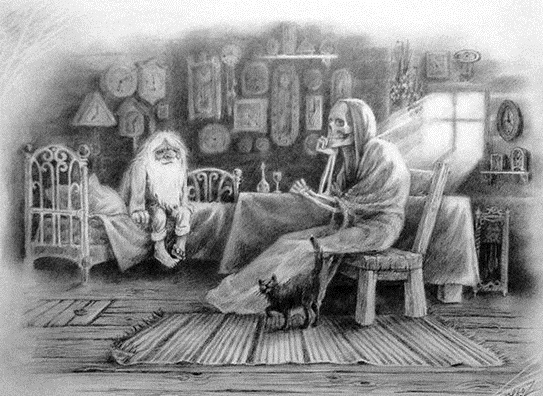 Жизнь: Старик и смерть