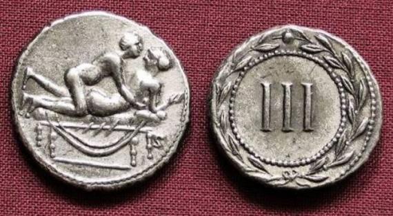 Интересное: Спинтрии - эротические монеты