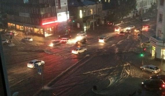 Проишествия: Наводнение в Ростове