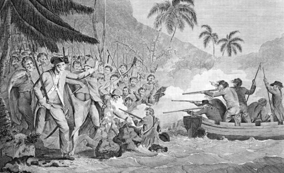Интересное: За что аборигены сьели Кука