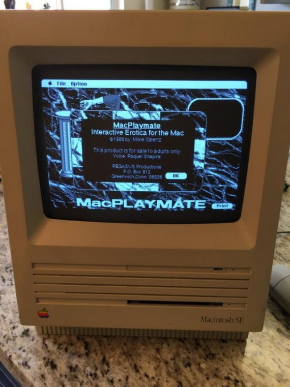 Технологии: Порно на Макинтоше 30 лет назад