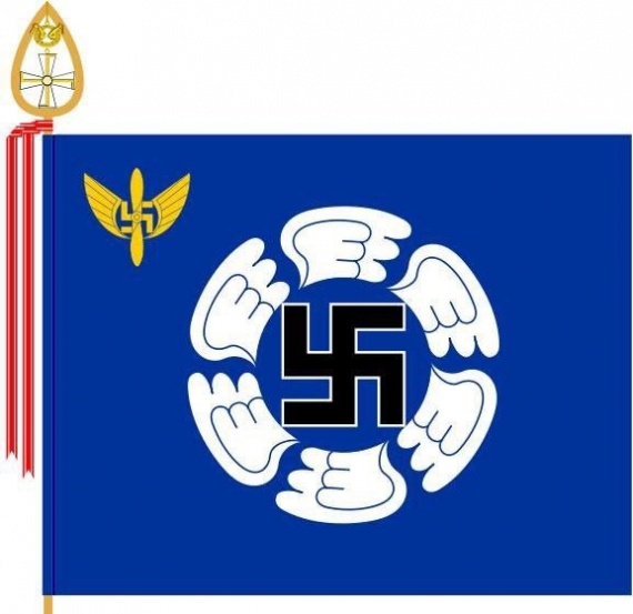 Общество: Официальный флаг современных ВВС Финляндии