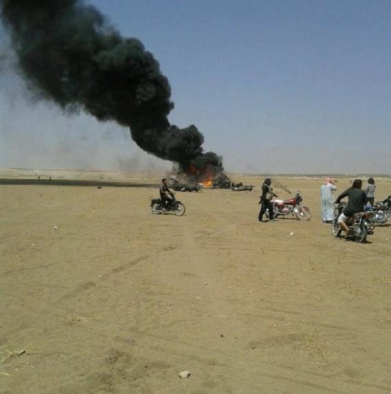 Война: В Сирии сбит МИ-8. Экипаж и сопровождающие погибли